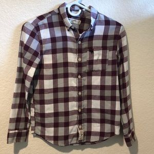 Abercrombie Kids 9/10 button up flannel shirt